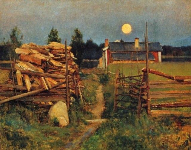 Järnefelt_Kesäyön_Kuu_1889